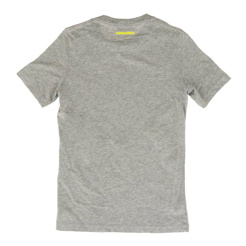 Camiseta de manga corta Dsquared2 con logo Icon gris 2
