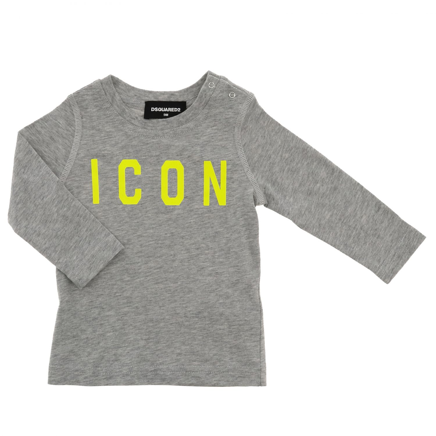 T-Shirt Dsquared2 Junior: Dsquared2 Junior Shirt mit Icon Logo grau 1