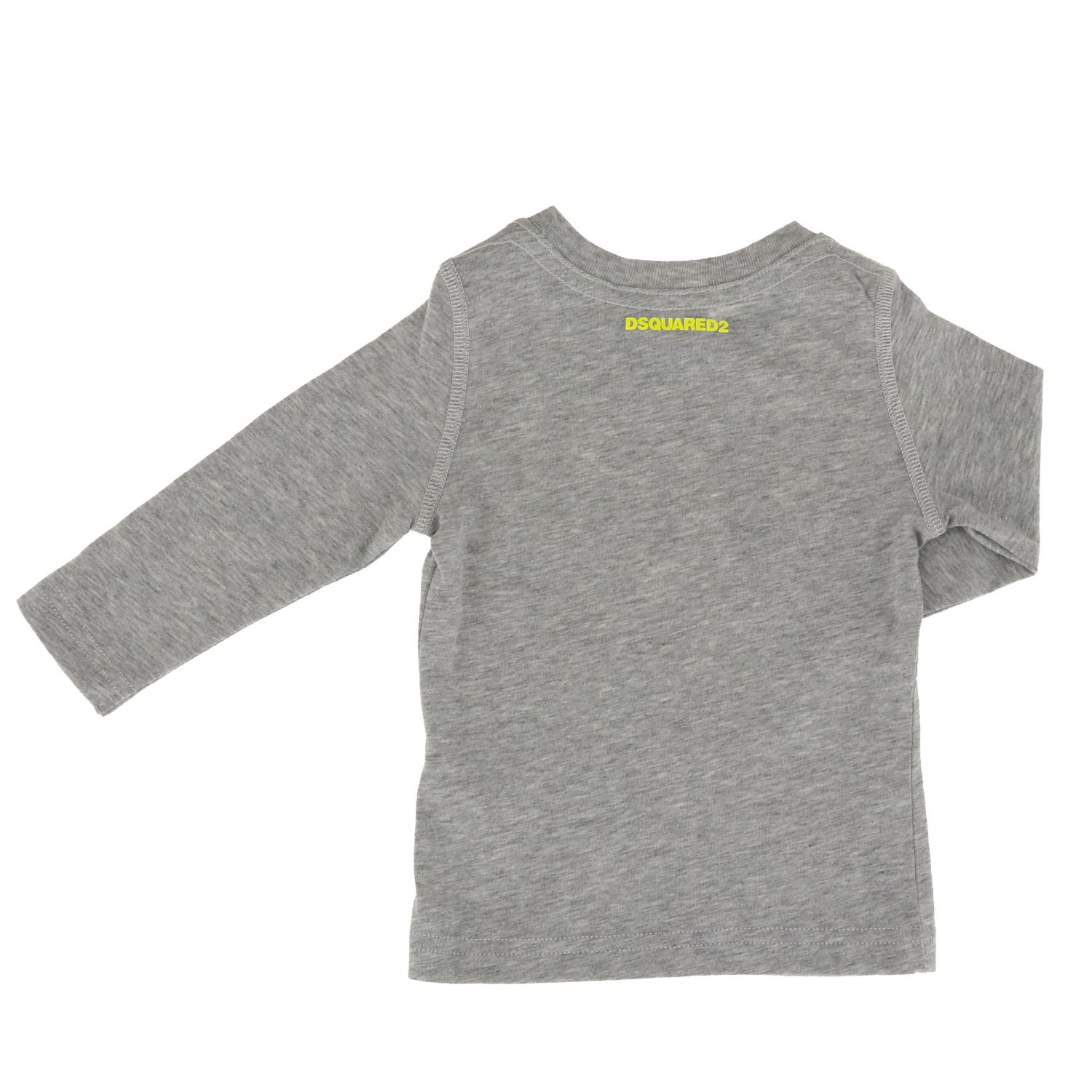 T-Shirt Dsquared2 Junior: Dsquared2 Junior Shirt mit Icon Logo grau 2