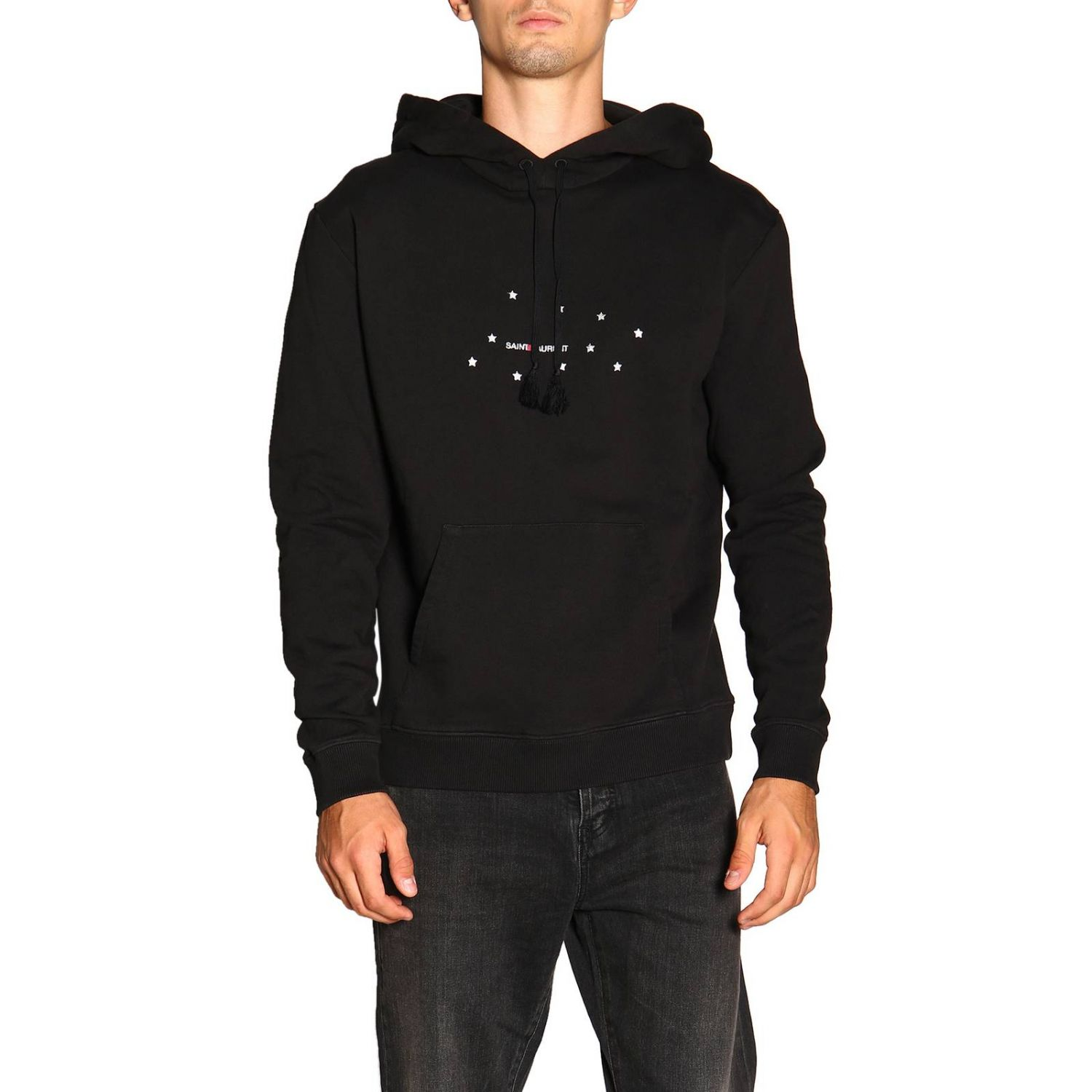 Pull homme Saint Laurent noir 1