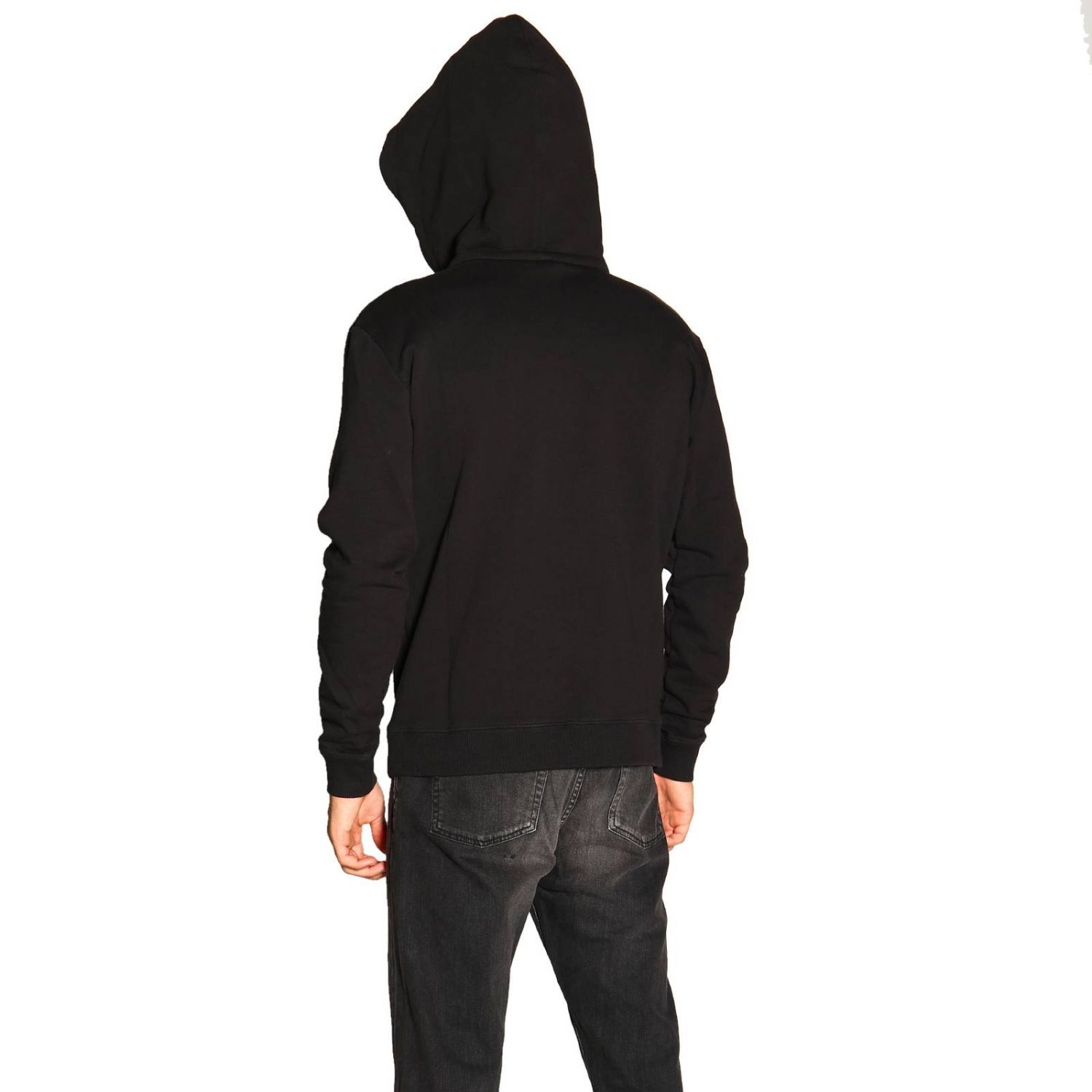 Pull homme Saint Laurent noir 3