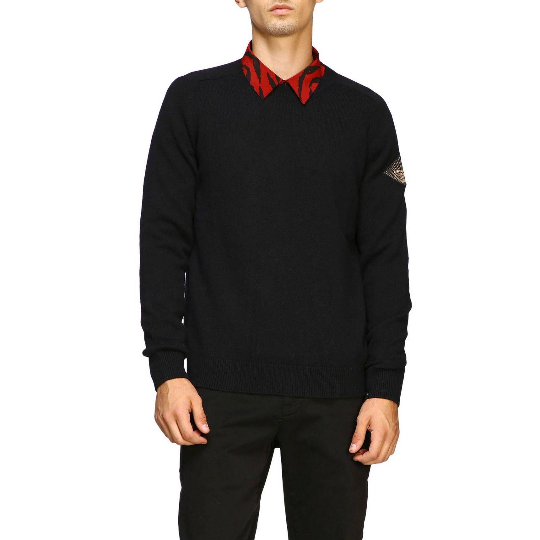 Pullover herren Saint Laurent schwarz 1