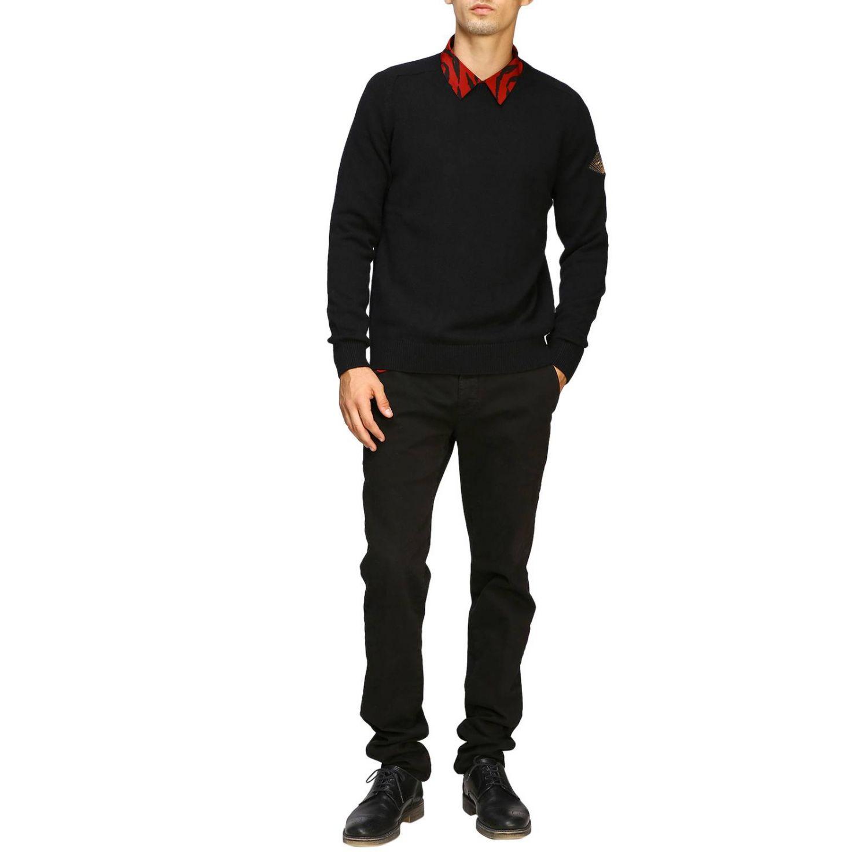 Pullover herren Saint Laurent schwarz 2