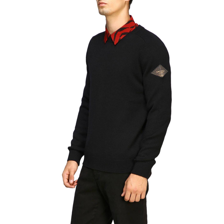 Pullover herren Saint Laurent schwarz 4
