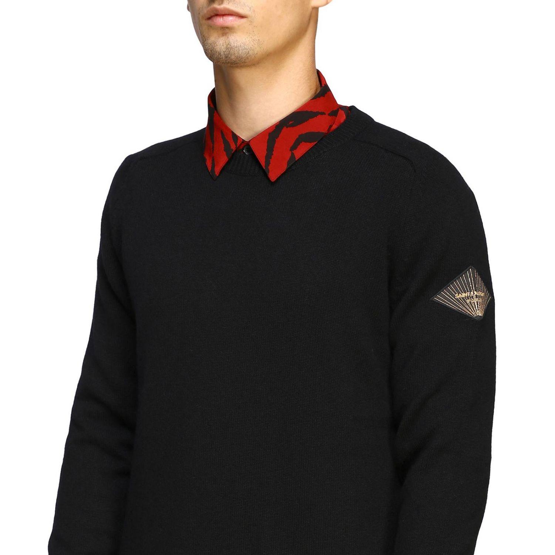 Pullover herren Saint Laurent schwarz 5