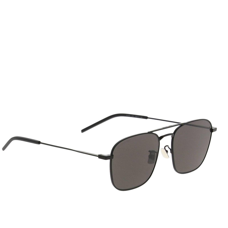 Saint Laurent Sl309 Metall Sonnenbrille schwarz 1