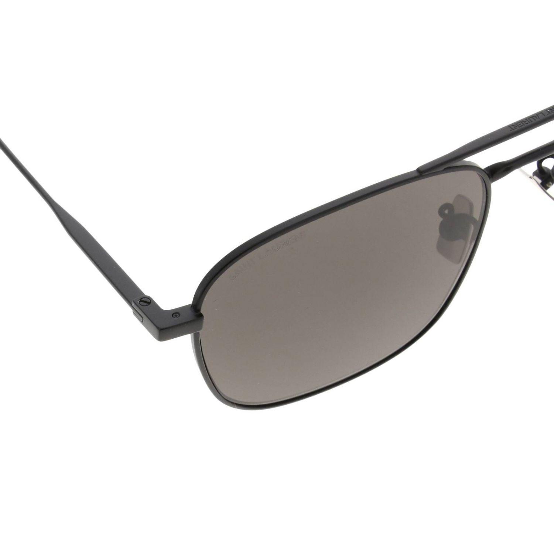 Saint Laurent Sl309 Metall Sonnenbrille schwarz 3