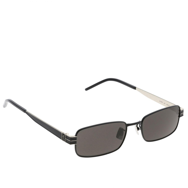 Saint Laurent Sonnenbrille aus Metall schwarz 1