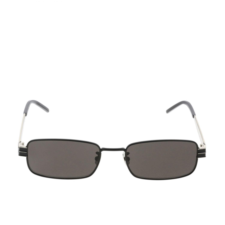 Saint Laurent Sonnenbrille aus Metall schwarz 2