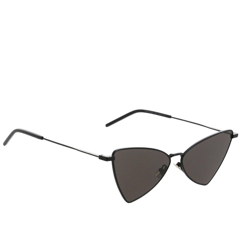 Sl303 gerry metal sunglasses by Saint Laurent black 1