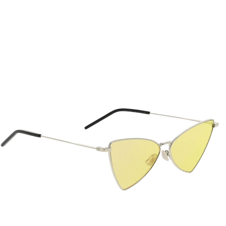 Sl303 gerry Saint Laurent Metall Sonnenbrille gelb 1