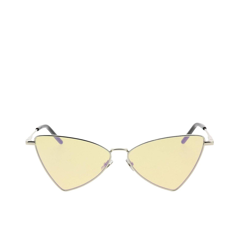 Sl303 gerry Saint Laurent Metall Sonnenbrille gelb 2