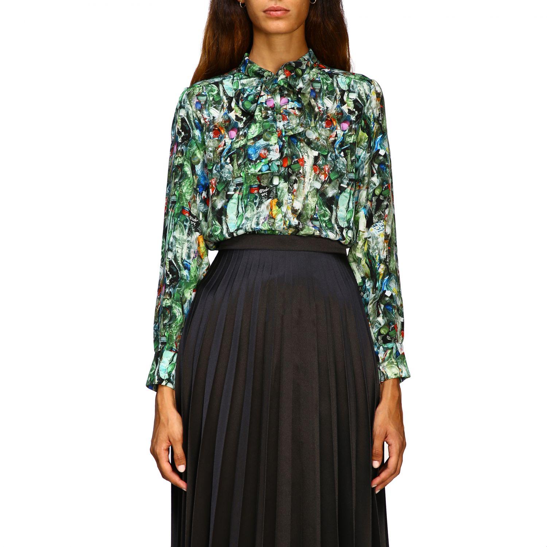 Camisa Ultrachic: Camisa mujer Ultrachic verde 1
