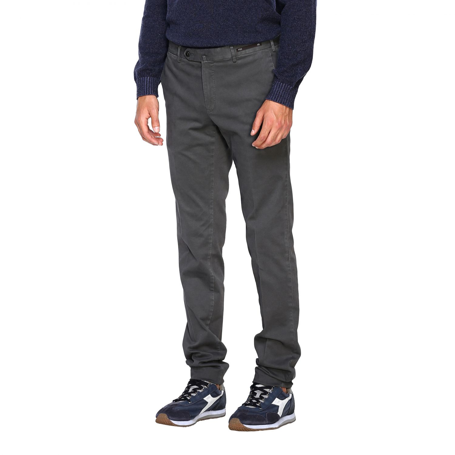 Trousers Pt: Trousers men Pt grey 4