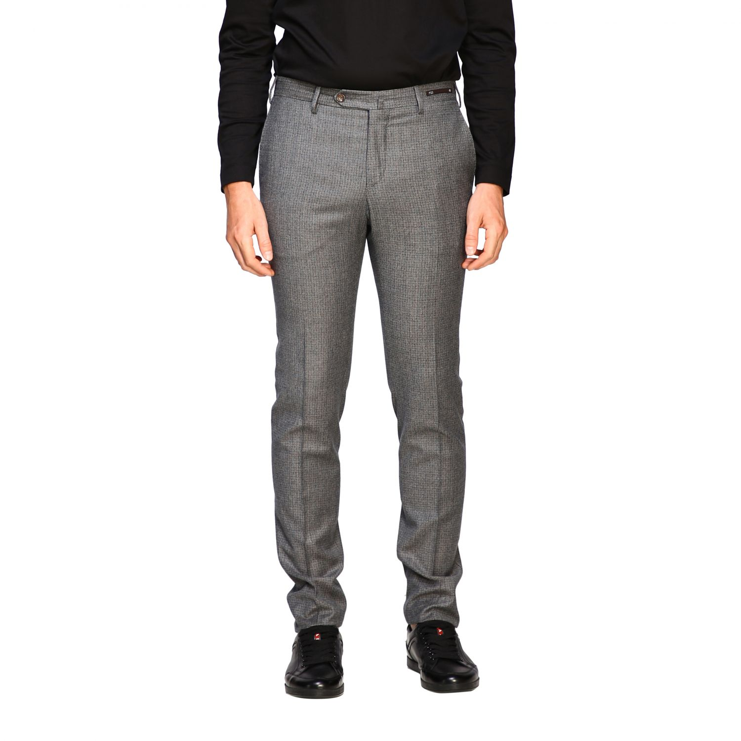 Trousers Pt: Trousers men Pt grey 1