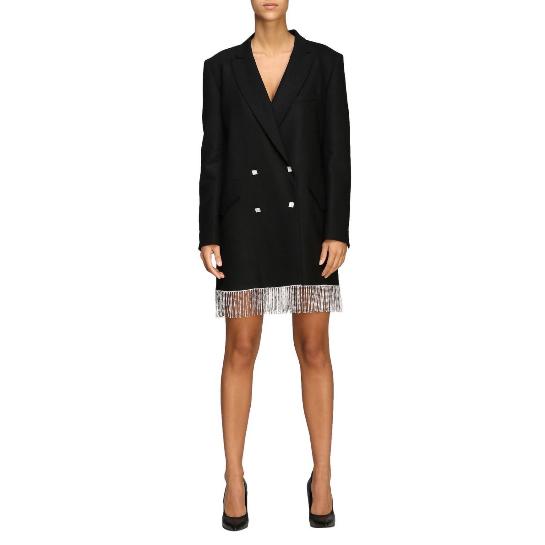 Vestido mujer Giuseppe Di Morabito negro 1