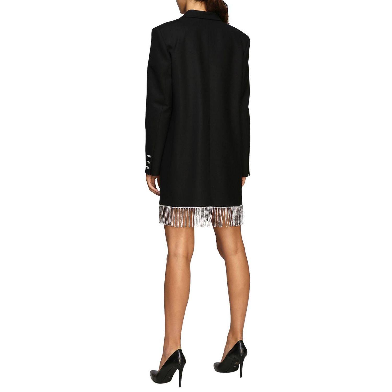 Vestido mujer Giuseppe Di Morabito negro 2
