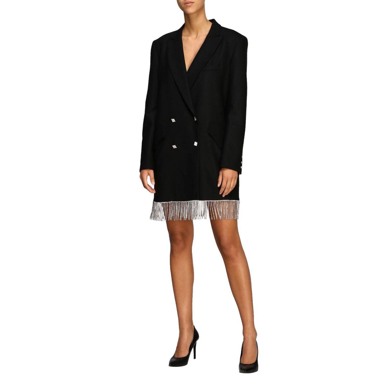 Vestido mujer Giuseppe Di Morabito negro 3