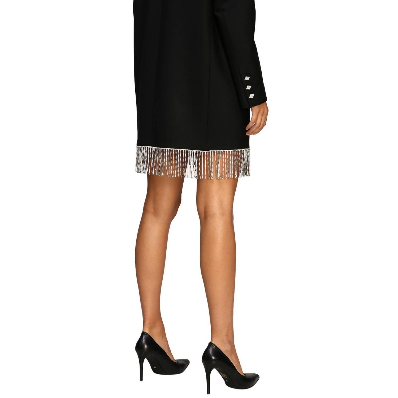 Vestido mujer Giuseppe Di Morabito negro 4