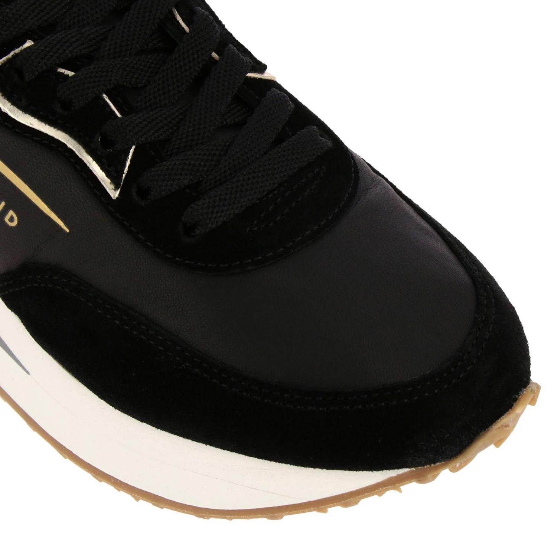 Кроссовки Rush X Ghoud из нейлона и замши с вставками из ламинированной кожи на толстой резиновой подошве черный 3