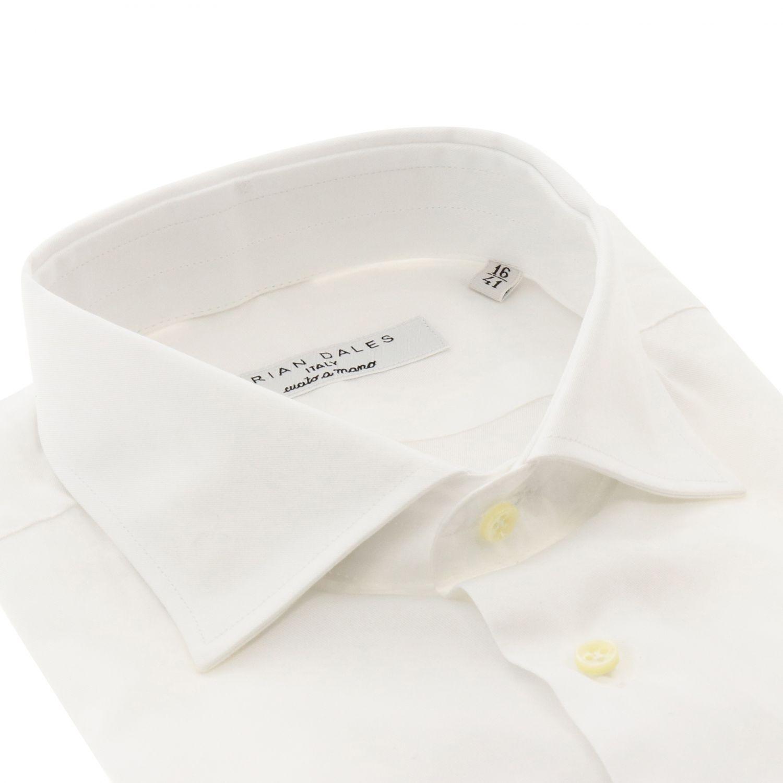 Hemd Brian Dales Camicie: Hemd herren Brian Dales Camicie weiß 2