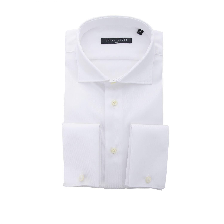 Hemd Brian Dales Camicie: Hemd herren Brian Dales Camicie weiß 1