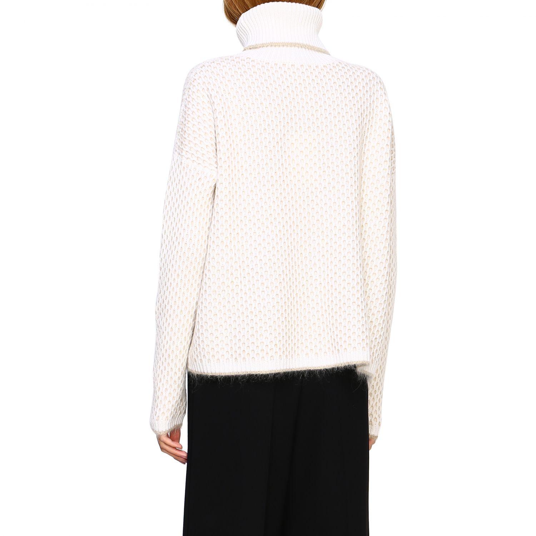 Pullover damen Cruciani yellow cream 3