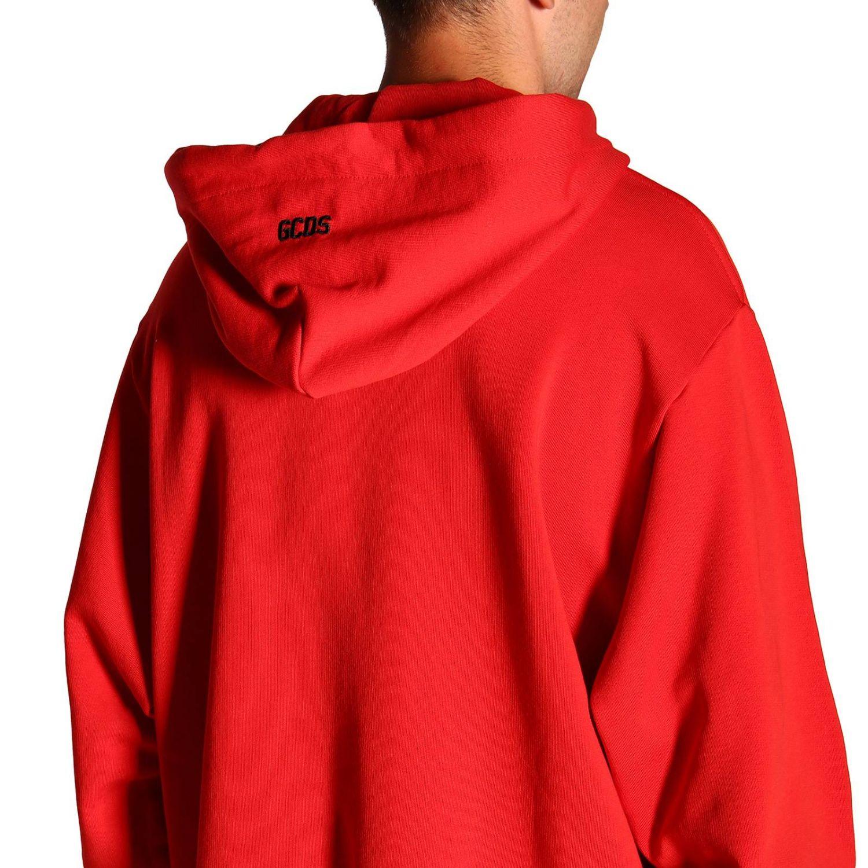 Pullover herren Gcds rot 5