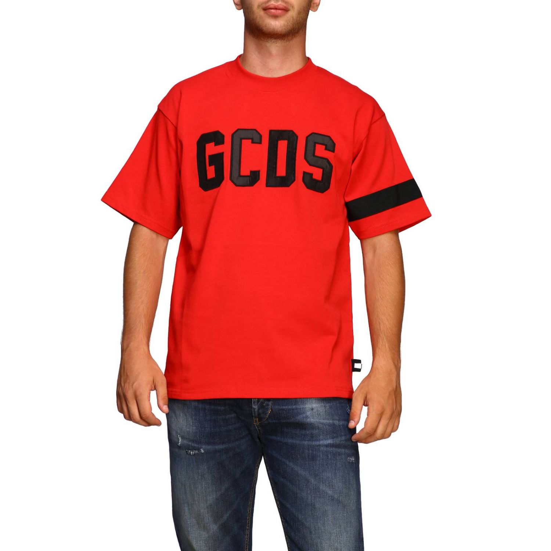 T恤 男士 Gcds 红色 1