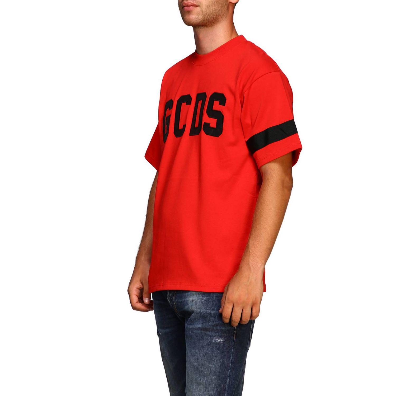 T恤 男士 Gcds 红色 4