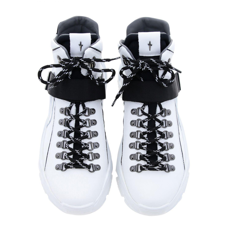 Zapatillas Paciotti 4Us: Zapatos hombre Paciotti 4us blanco 3