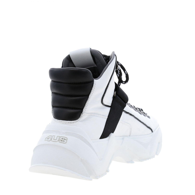 Zapatillas Paciotti 4Us: Zapatos hombre Paciotti 4us blanco 5