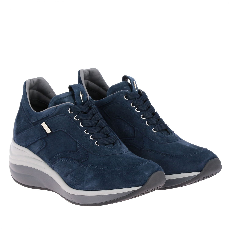Zapatillas Paciotti 4Us: Zapatos mujer Paciotti 4us azul oscuro 2