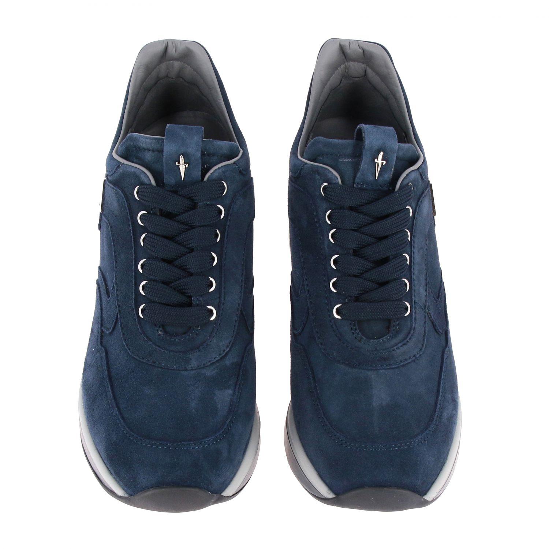 Zapatillas Paciotti 4Us: Zapatos mujer Paciotti 4us azul oscuro 3