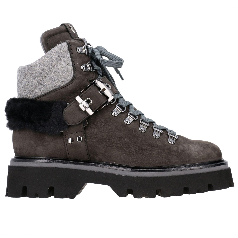 Schuhe damen Paciotti 4us grau 1