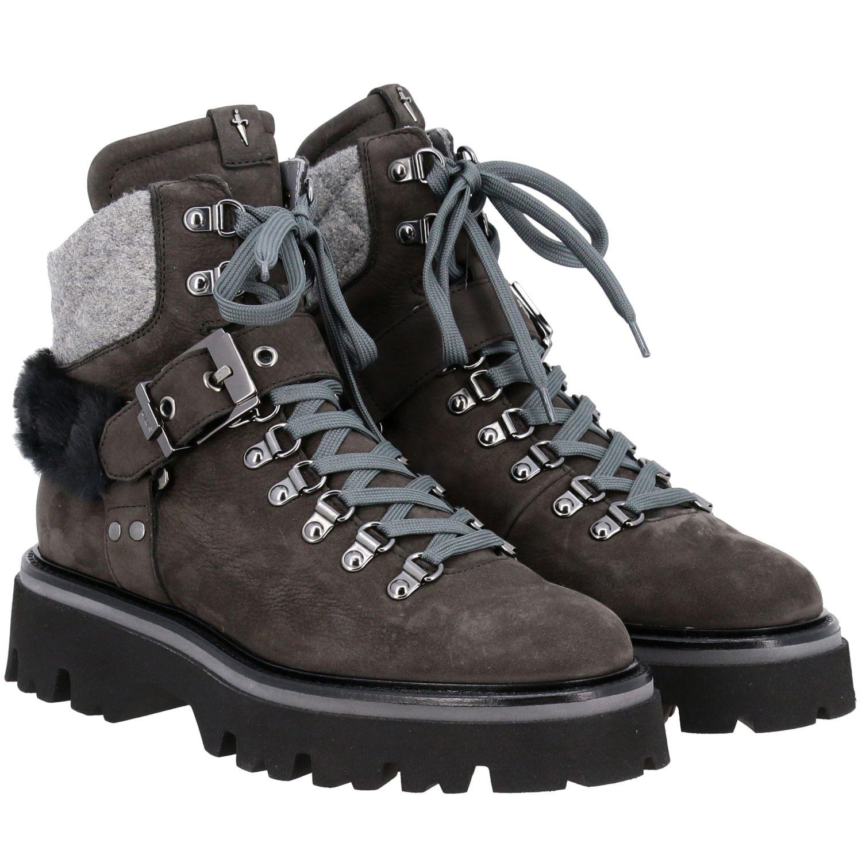 Schuhe damen Paciotti 4us grau 2