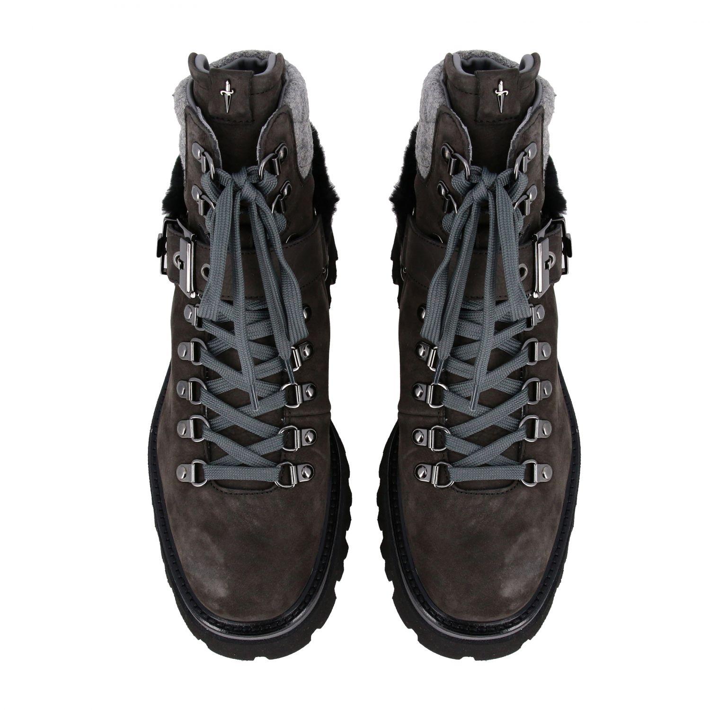 Schuhe damen Paciotti 4us grau 3