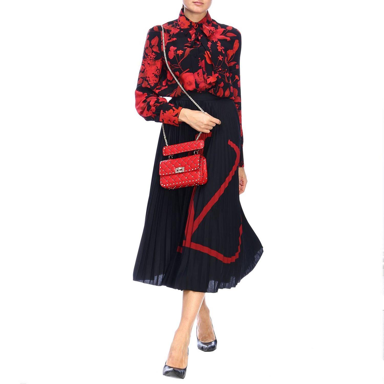 Shirt Valentino: Shirt women Valentino red 2