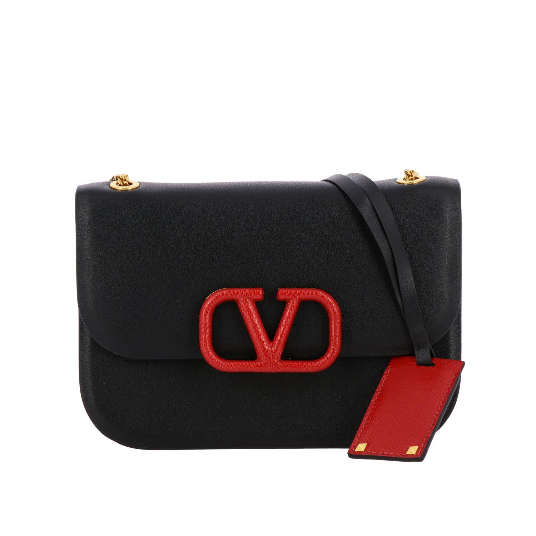 Shoulder bag women Valentino Garavani black 1