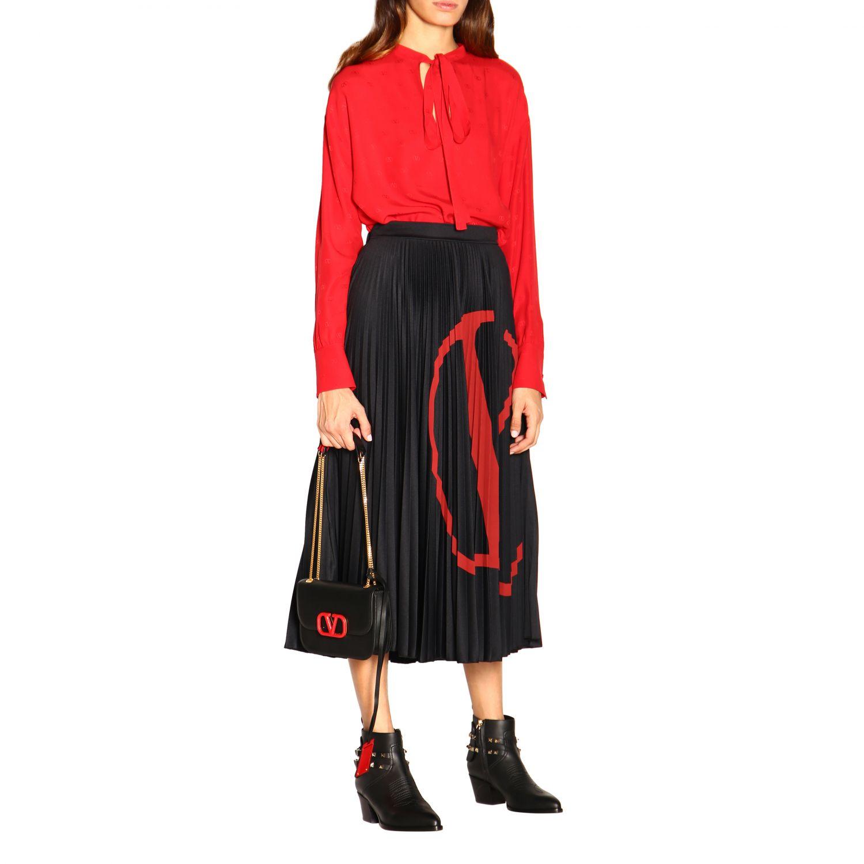 Shoulder bag women Valentino Garavani black 2