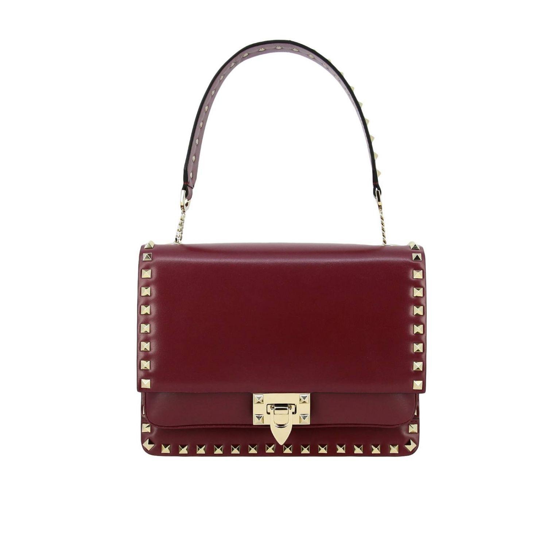 Shoulder Bag Valentino Garavani Rockstud Leather Bag With Studs