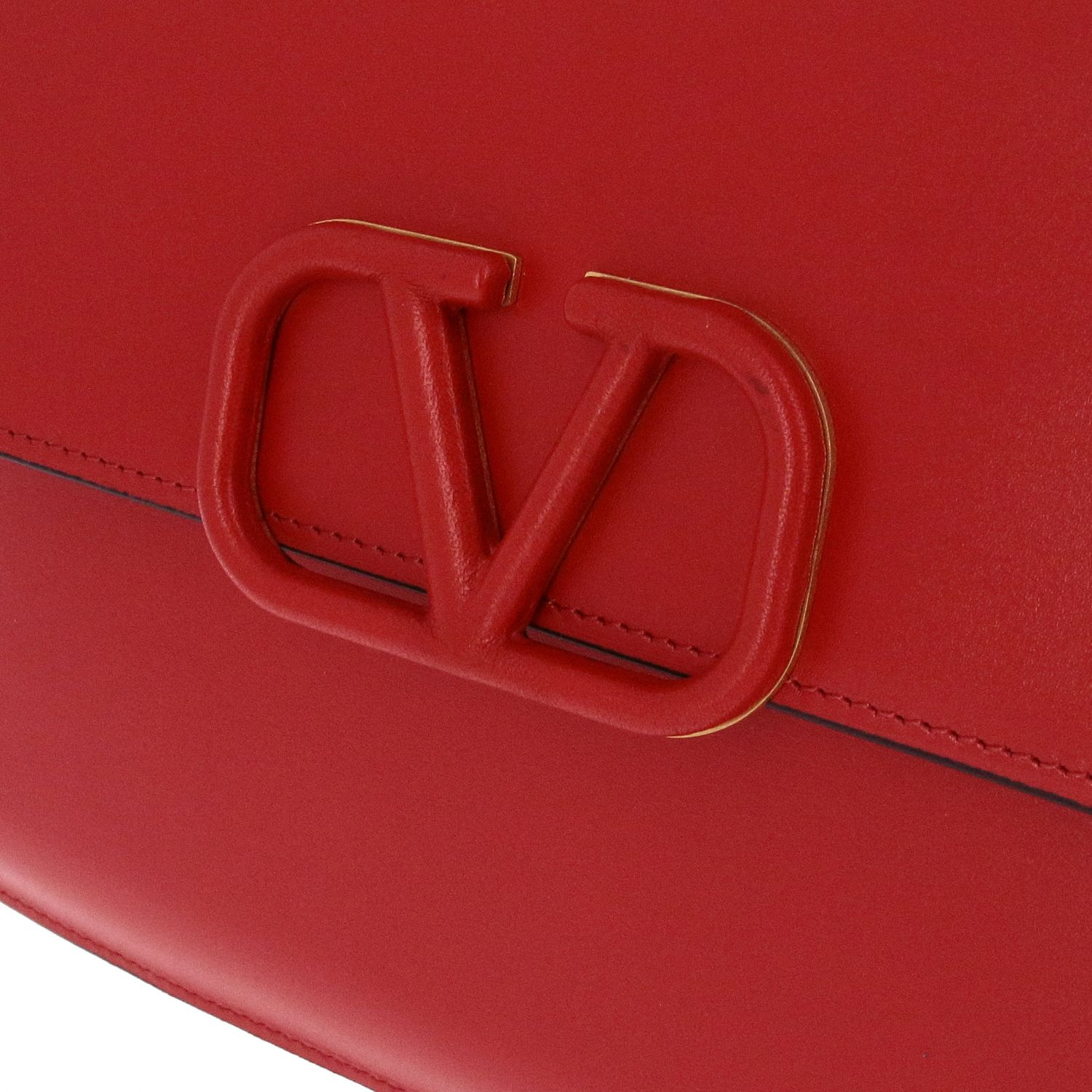 Clutch Valentino Garavani: Mini bag women Valentino Garavani red 4