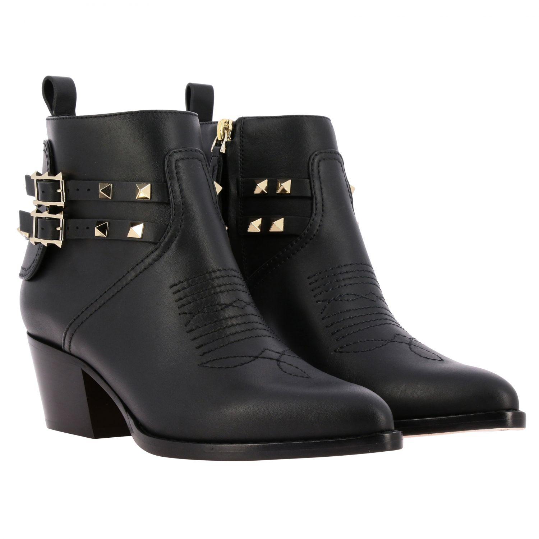 Schuhe damen Valentino Garavani schwarz 2