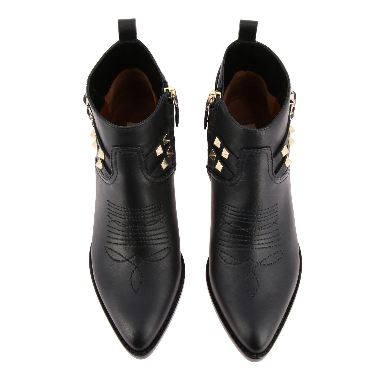 Schuhe damen Valentino Garavani schwarz 3