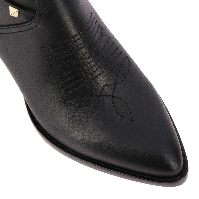 Schuhe damen Valentino Garavani schwarz 4