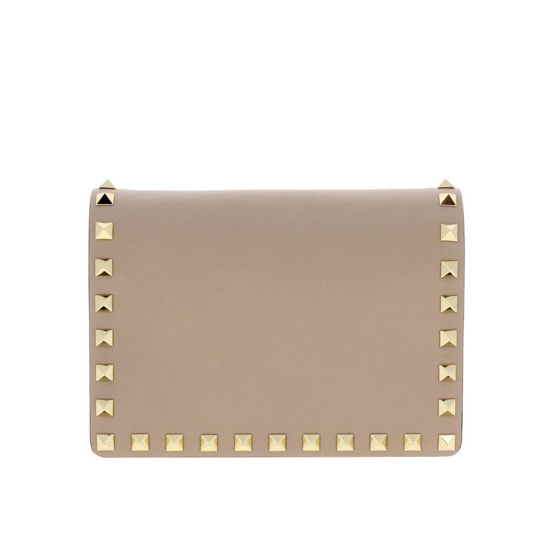 Mini Bag Valentino Garavani Rockstud Spikes Leather Bag With Studs