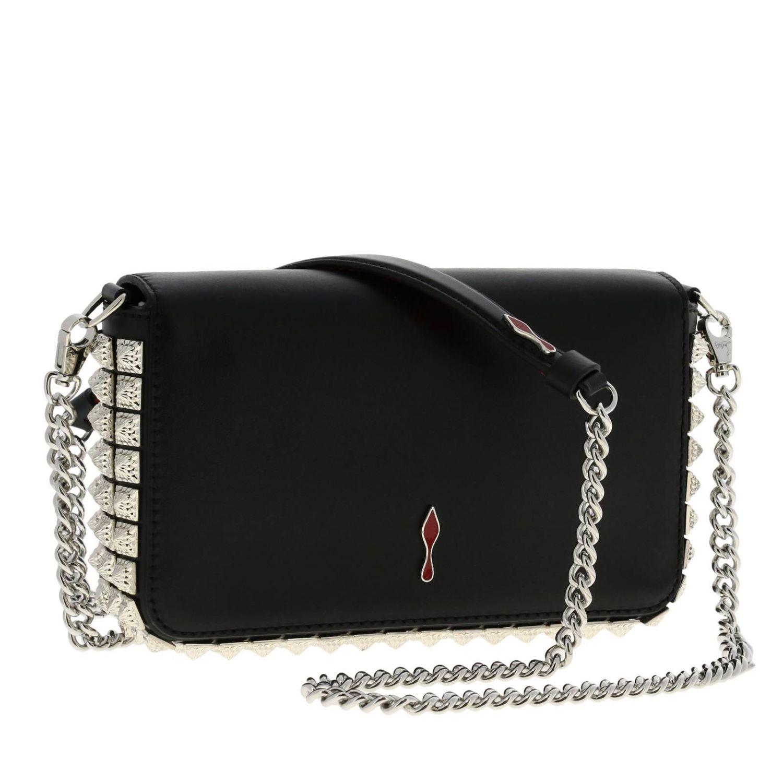Mini bag women Christian Louboutin black 3