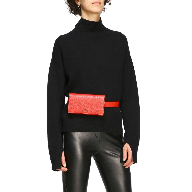 Mini bag women Christian Louboutin red 2