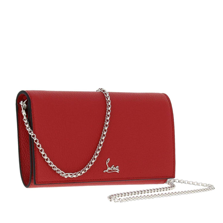 Mini bag women Christian Louboutin red 4