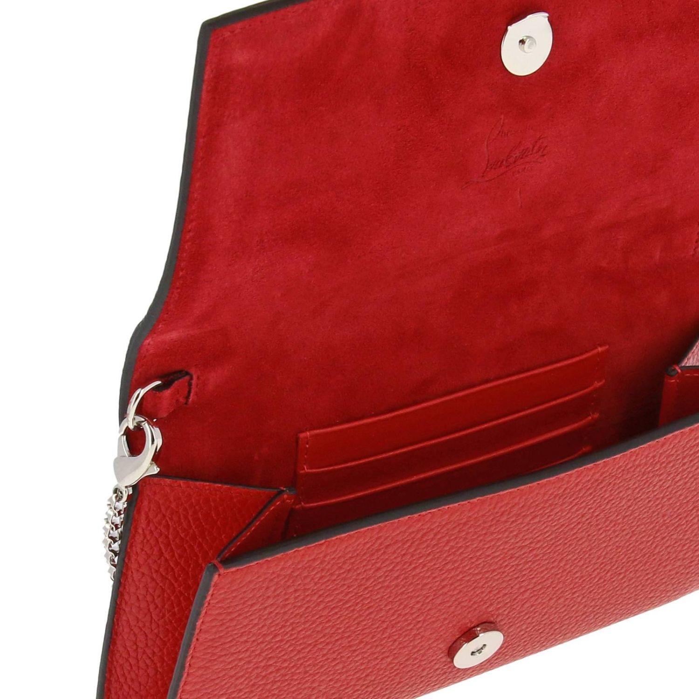 Mini bag women Christian Louboutin red 6